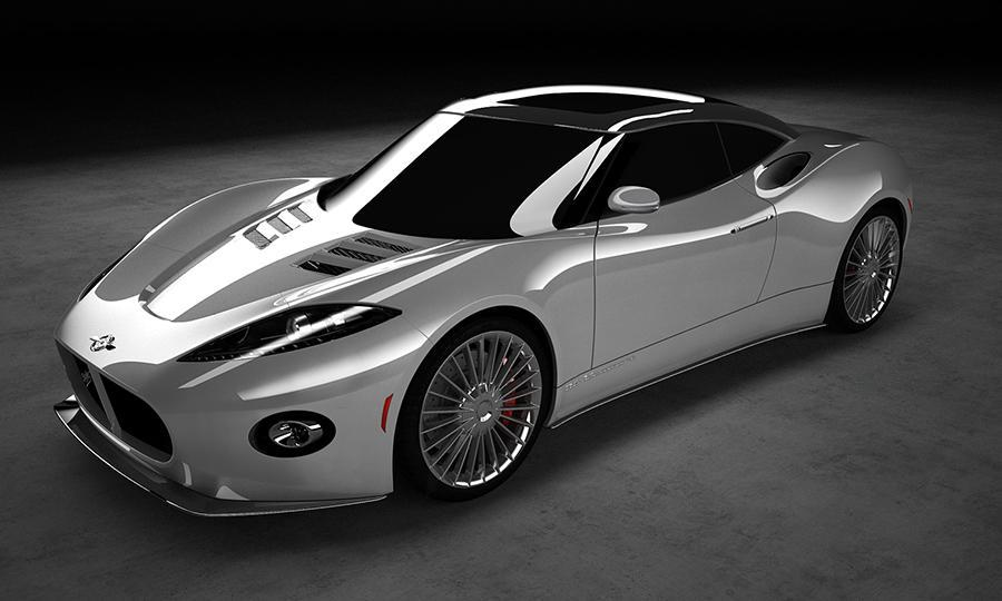 Spyker B6 Venator Rendering at Spyker B6 Venator Spyder Spotted as Coupe Gets Teased Again