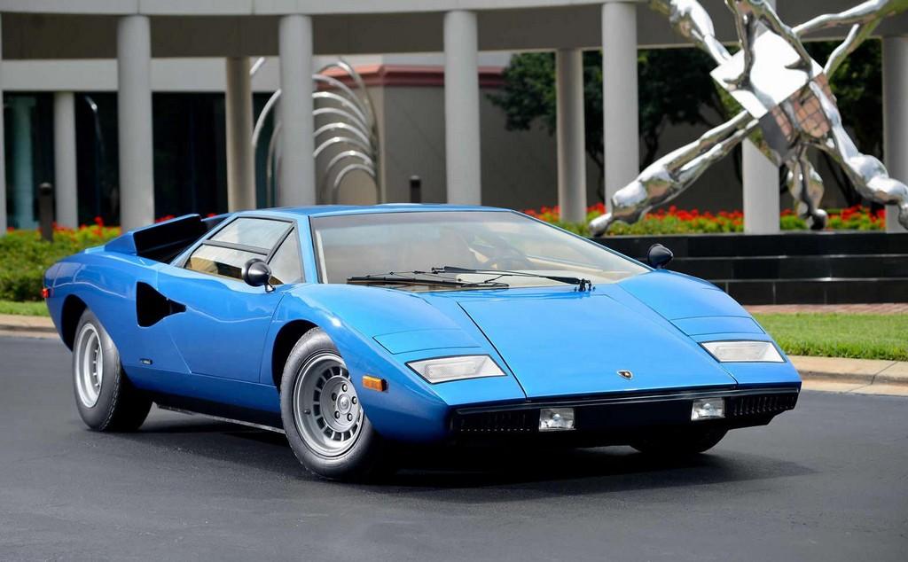1975 Lamborghini Countach Periscopica Sold For 1 2 Million