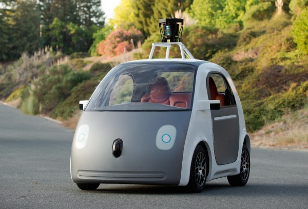 "Google Self Driving Prototype 600x408 at Is ""Car of the Future"" Finally Here?"