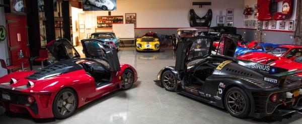 James Glickenhaus Garage 2 600x248 at James Glickenhaus Garage Is Ferrarivana