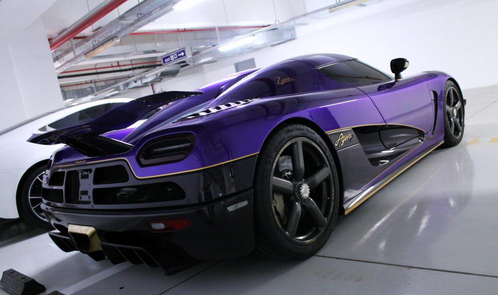 Koenigsegg Agera R Zijin Spotted in China