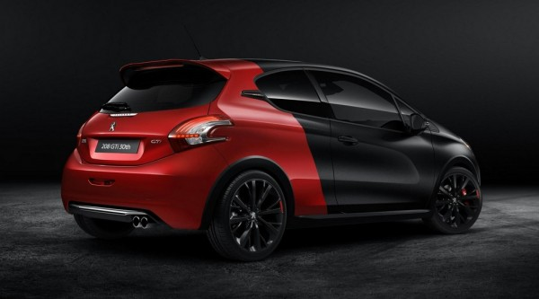 Peugeot 208 GTi 30th 2 600x333 at Peugeot 208 GTi 30th Anniversary Edition Revealed