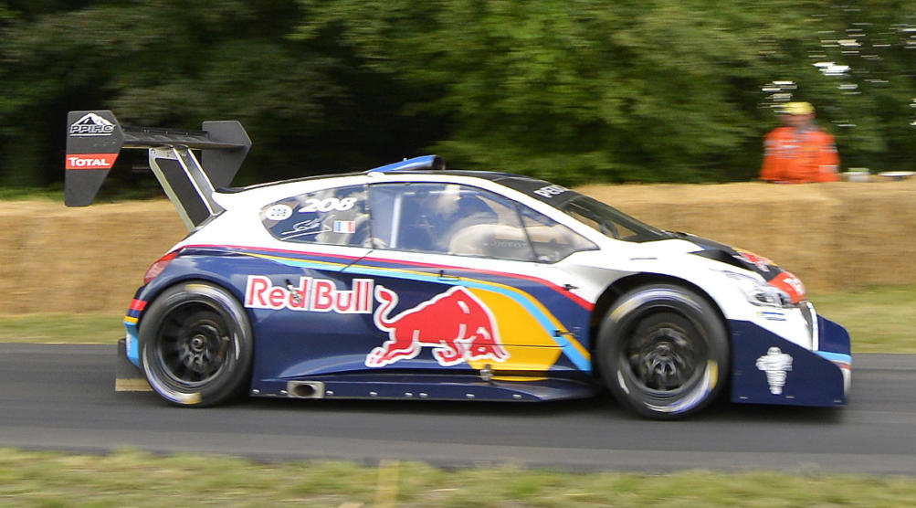 Peugeot 208 T16 Pikes Peak Sets Record At Goodwood