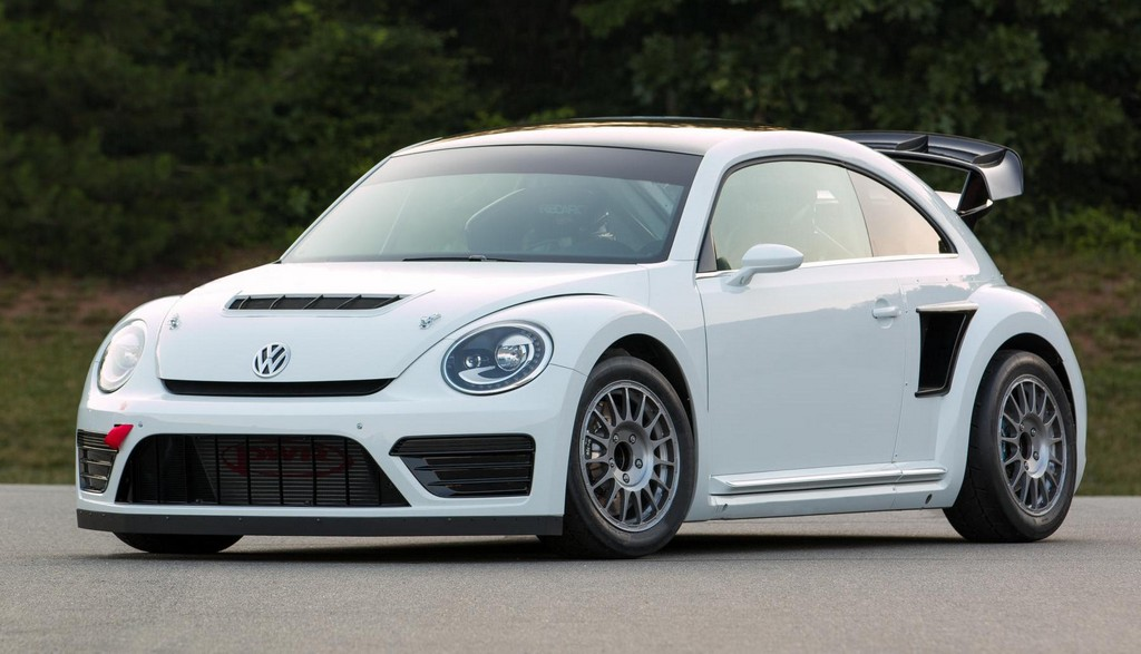 Tanner Foust Vw Beetle >> VW Beetle GRC Rallycross Ready for Action
