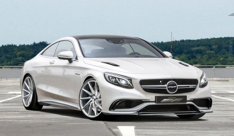 Voltage Design Mercedes S63 Amg Coupe With 850 Hp