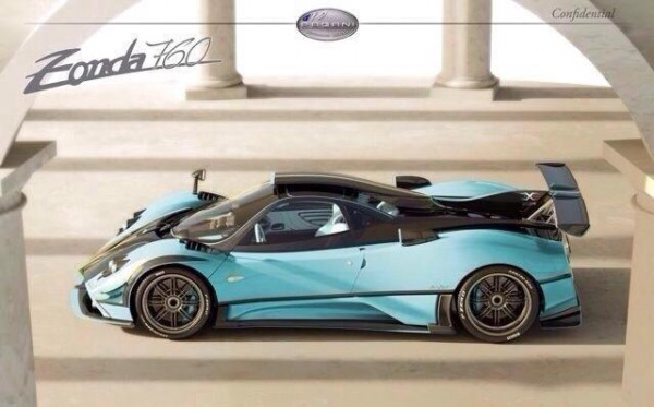zonda x 0 600x373 at Pagani Zonda X: New Pictures and Details