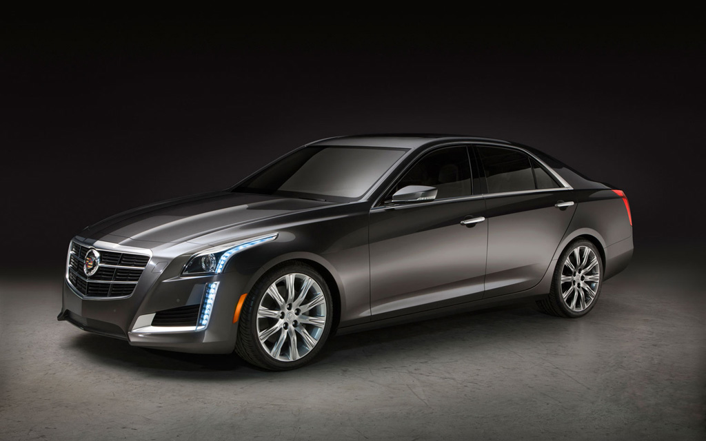 2014 cadillac cts 1 at 2014 Cadillac CTS: A Quadruple Crown Winner in the Midsize Luxury Class