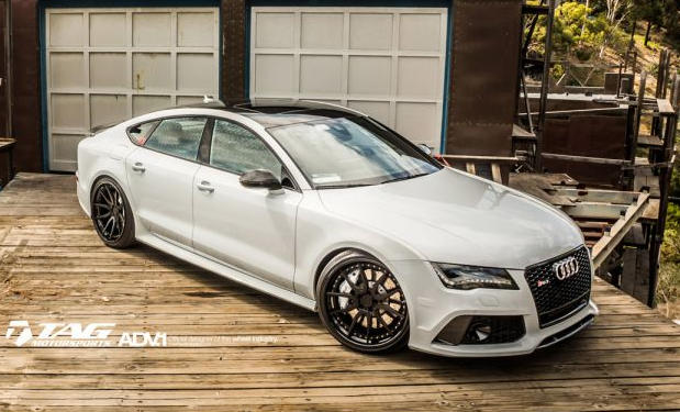 This Audi Rs7 On Adv1 Wheels Redefines Handsomeness