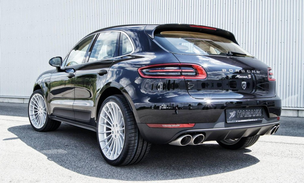 Hamann Porsche Macan Preview The Wheels