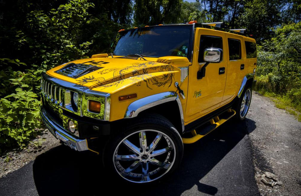 Hummer H2 by Vilner 0 at Chinese Dragon Themed Hummer H2 by Vilner