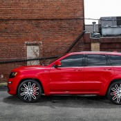Jeep SRT8 on Forgiato 4 175x175 at Jeep Cherokee SRT8 Rolling on 24s from Forgiato Wheels