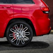 Jeep SRT8 on Forgiato 5 175x175 at Jeep Cherokee SRT8 Rolling on 24s from Forgiato Wheels
