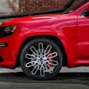Jeep SRT8 on Forgiato 6 175x175 at Jeep Cherokee SRT8 Rolling on 24s from Forgiato Wheels