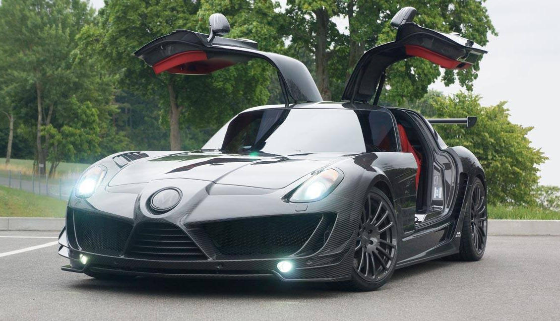 Mansory SLS Cormeum Is One Mean Benz