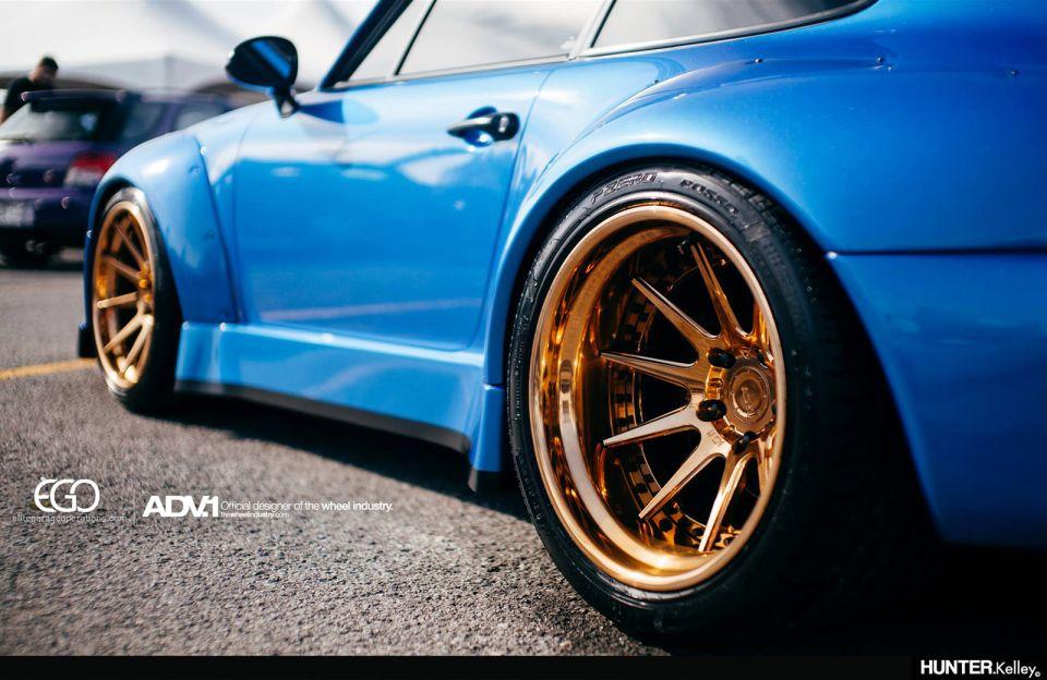 Mesmerizing Porsche 993 Turbo Rwb On Adv1 Wheels