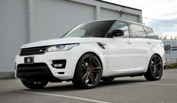 Range Rover on 24s 1 600x352 at Range Rover Sport Looks Sublime on 24s
