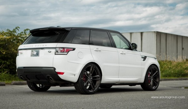 Range Rover on 24s 3 600x348 at Range Rover Sport Looks Sublime on 24s