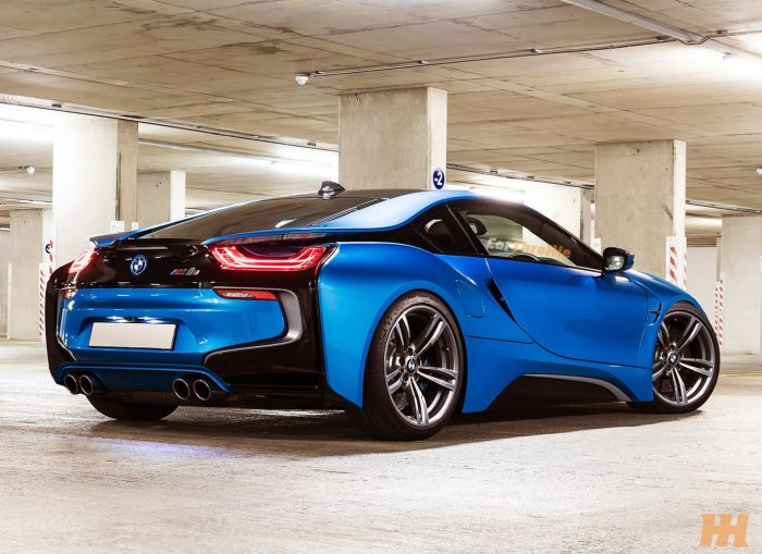 Bmw I8 Rendered In M Guise