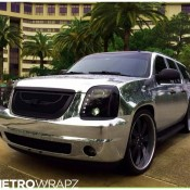 Chrome Yukon Denali 1 175x175 at Chrome GMC Yukon Denali by Metro Wrapz & Forgiato