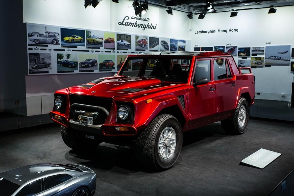 Lamborghini Lm002 Shows Up At Hong Kong Pop Up Museum