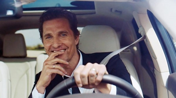 Matthew McConaughey Lincoln 1 600x337 at Matthew McConaughey to Star in Lincoln Ads