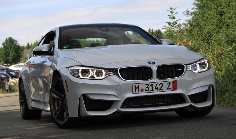 White Bmw M4 Looks Superb