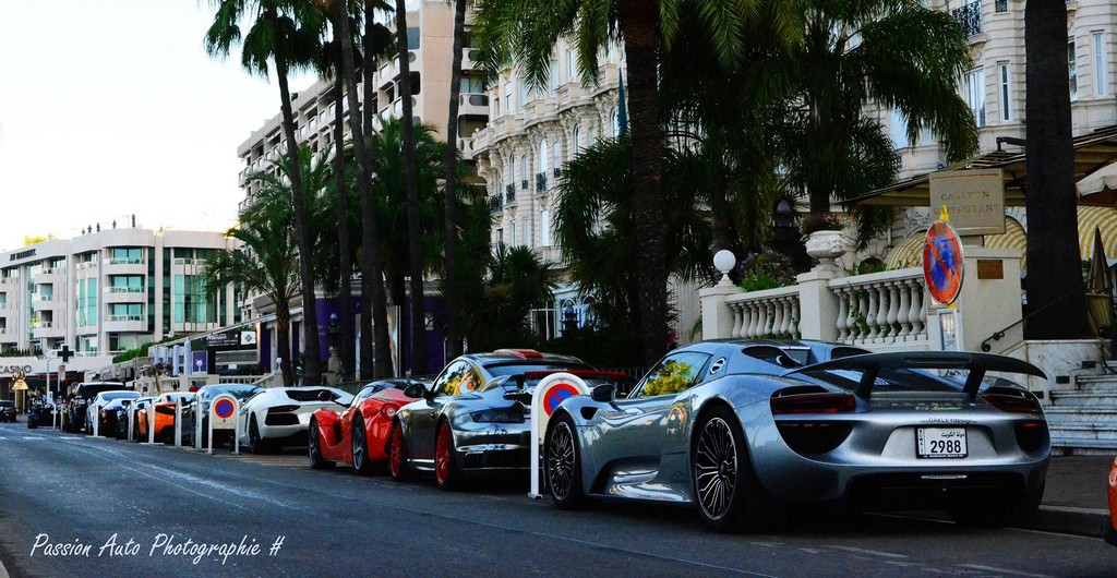 Pictorial Supercars Ruling The Streets Of Cannes