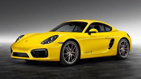 yellow cayman 0 600x338 at Cayman S Sport Design Package by Porsche Exclusive