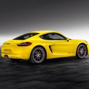 yellow cayman 1 175x175 at Cayman S Sport Design Package by Porsche Exclusive
