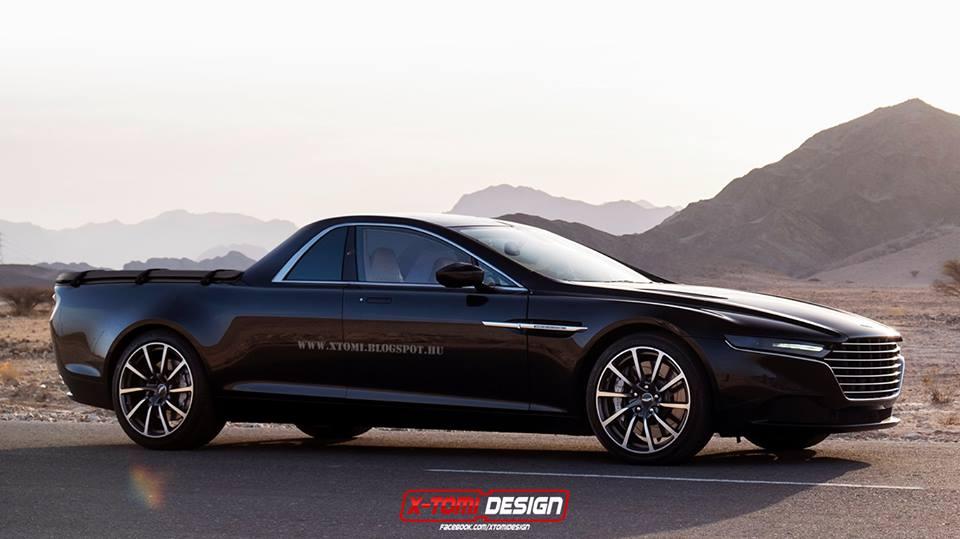 Aston Martin Lagonda Rendered As Pickup Truck