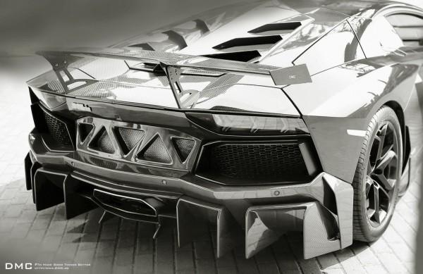 DMC Aventador Edizione GT BW 0 600x389 at DMC Aventador Edizione GT Returns in Black & White