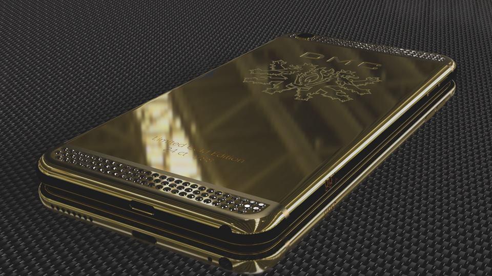 DMC iphone6 0 at DMC Revelas 24 Carat Gold iPhone 6