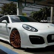 Grand GT 1 175x175 at Techart Grand GT Looks Formidable on Rose Gold ADV1 Wheels