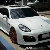 Grand GT 6 175x175 at Techart Grand GT Looks Formidable on Rose Gold ADV1 Wheels
