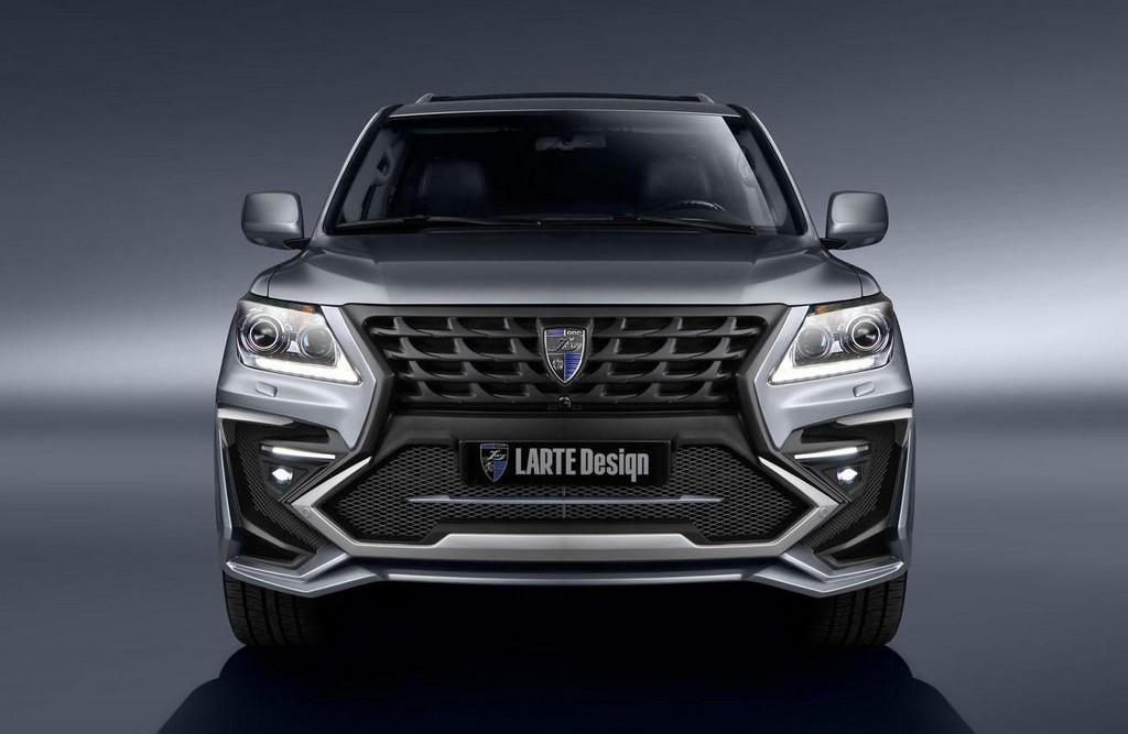 Larte Design Lexus LX Body Kit Revealed