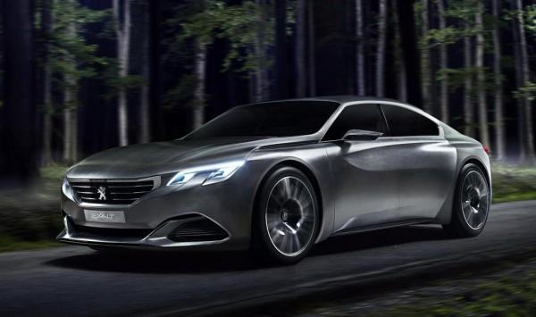 Peugeot Exalt 0 600x355 at Revised Peugeot Exalt Concept Headed for Paris Debut