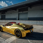 Robinson Cano Gold Ferrari 458 1 175x175 at Robinson Cano's Gold Ferrari 458 by MC Customs