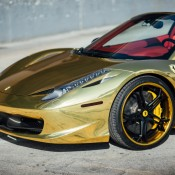 Robinson Cano Gold Ferrari 458 13 175x175 at Robinson Cano's Gold Ferrari 458 by MC Customs