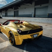 Robinson Cano Gold Ferrari 458 3 175x175 at Robinson Cano's Gold Ferrari 458 by MC Customs
