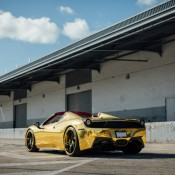Robinson Cano Gold Ferrari 458 5 175x175 at Robinson Cano's Gold Ferrari 458 by MC Customs