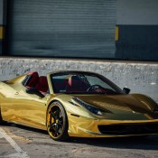 Robinson Cano Gold Ferrari 458 9 175x175 at Robinson Cano's Gold Ferrari 458 by MC Customs