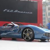 Ferrari F60 America Live Photos from Rodeo Drive