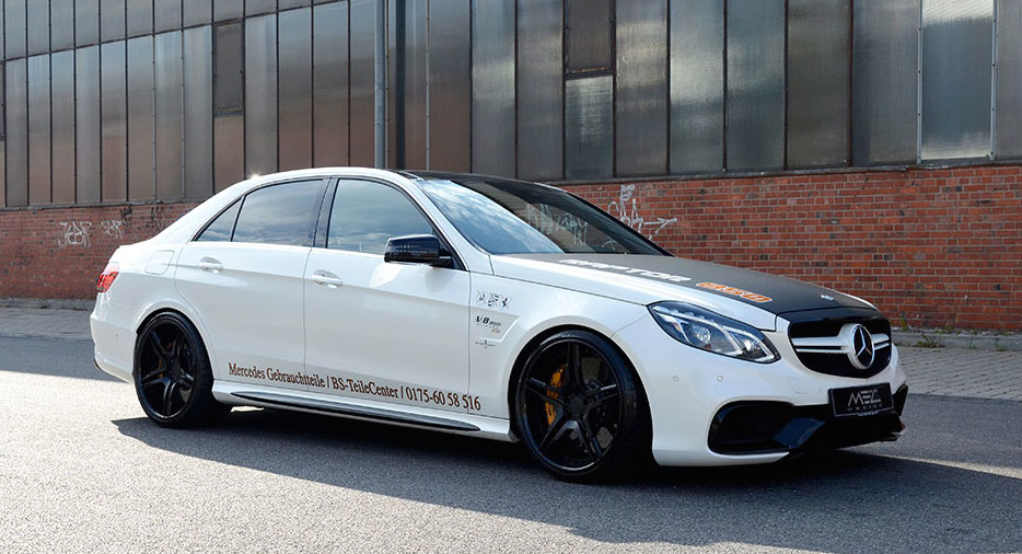 Tricked Out Mercedes E63 Amg By Mec Design
