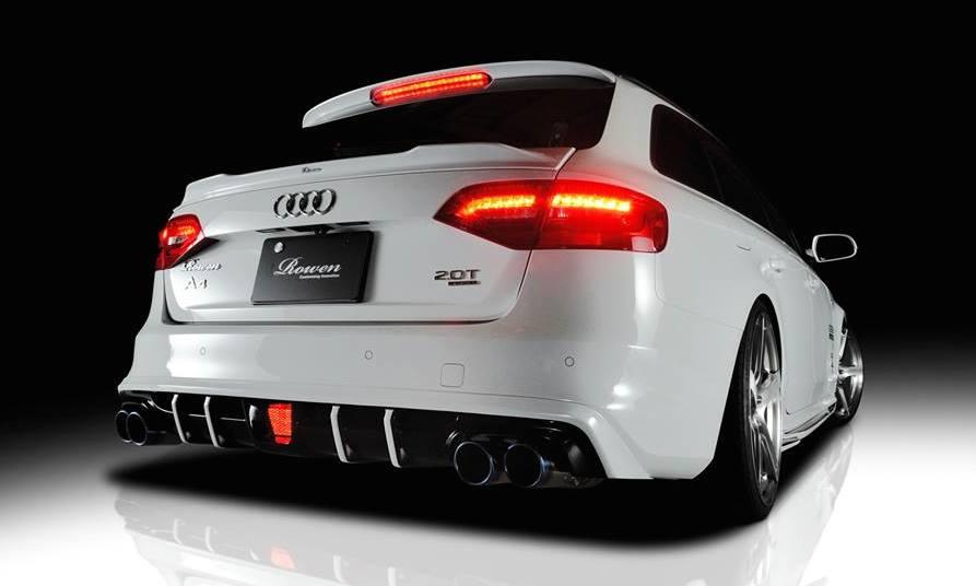 Audi A4 S4 Facelift By Rowen Japan