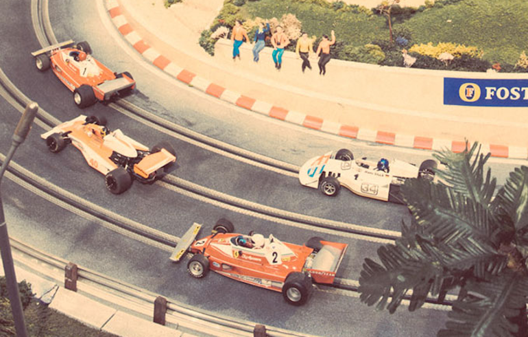 Slot Car Track at $300K Slot Car Track by Neiman Marcus