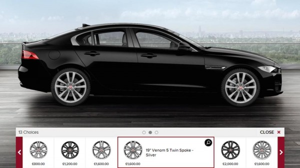 XE config 600x337 at Come Configure Yourself a Jaguar XE