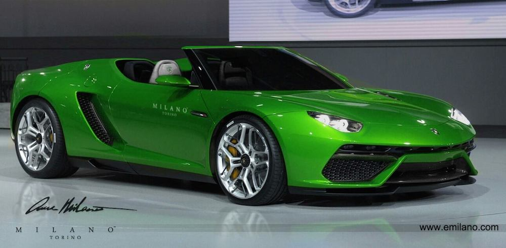 Lamborghini Asterion Goes Alfresco In New Rendering