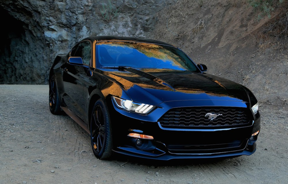 2015 Ford Mustang Batcave Photoshoot