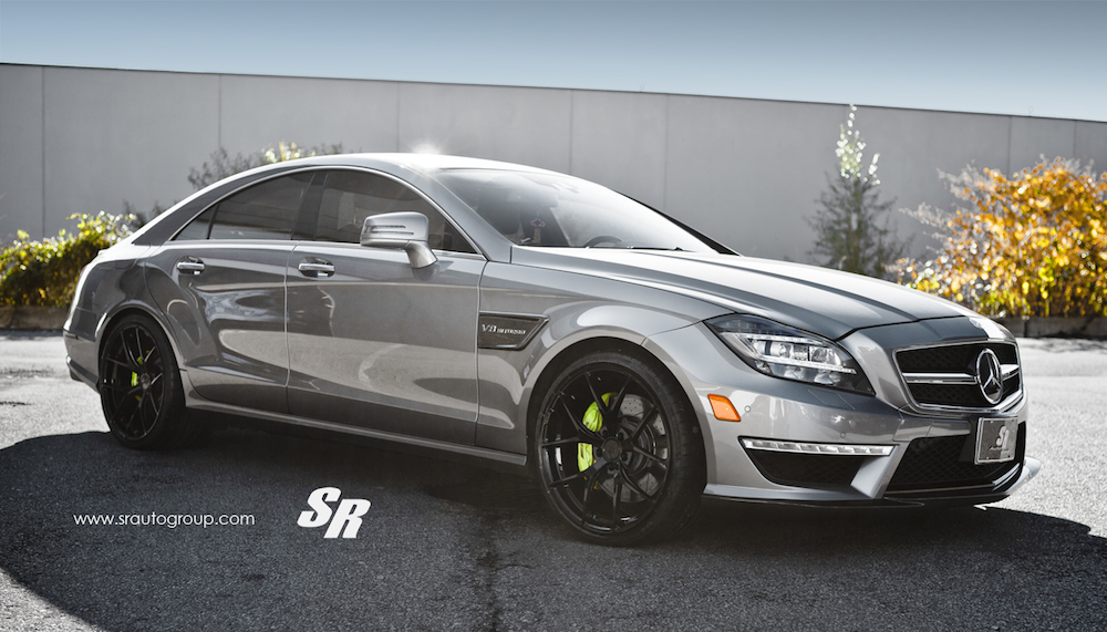 Custom Mercedes Cls63 Amg By Sr Auto