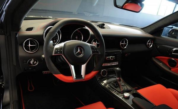 Mercedes SLK 55 AMG Performance 00 600x368 at Mercedes SLK 55 AMG Performance Studio Edition